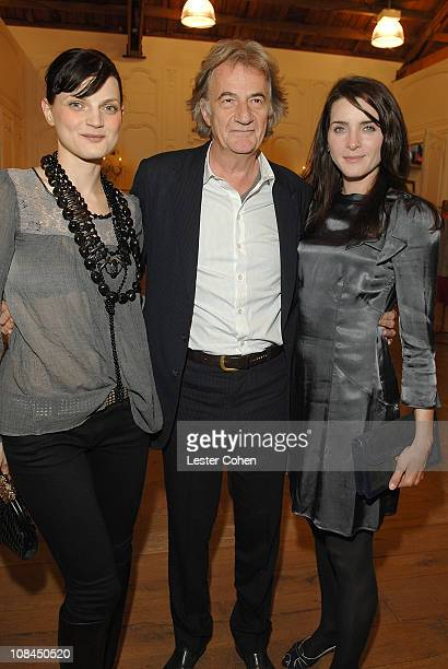 Guinevere Van Seenus Paul Smith and Michele Hicks at the Screening of 'Withnail and I' at the Paul Smith Boutique on October 16 2007