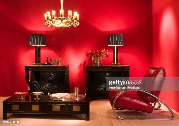guinevere's antique shop - art deco furniture stock pictures, royalty-free photos & images