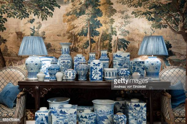 guinevere's antique shop - porcelain stock pictures, royalty-free photos & images