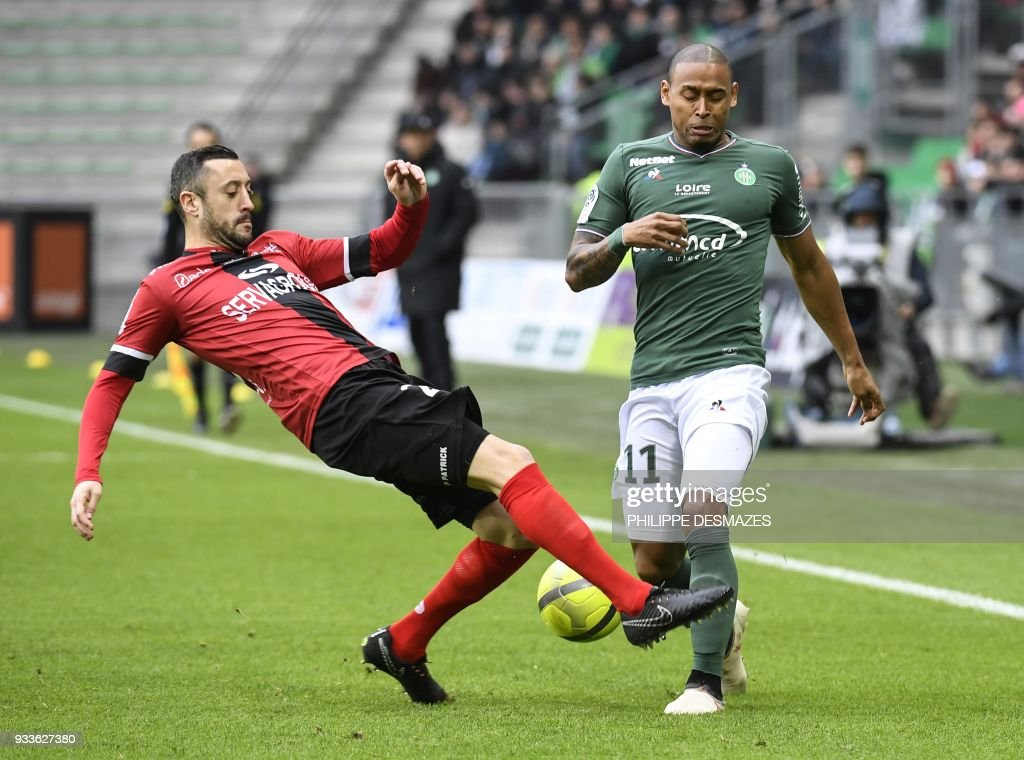 AS Saint-Etienne v EA Guingamp - Ligue 1