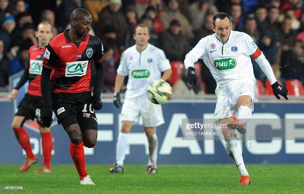Guingamp v Chateauroux - Coupe de France