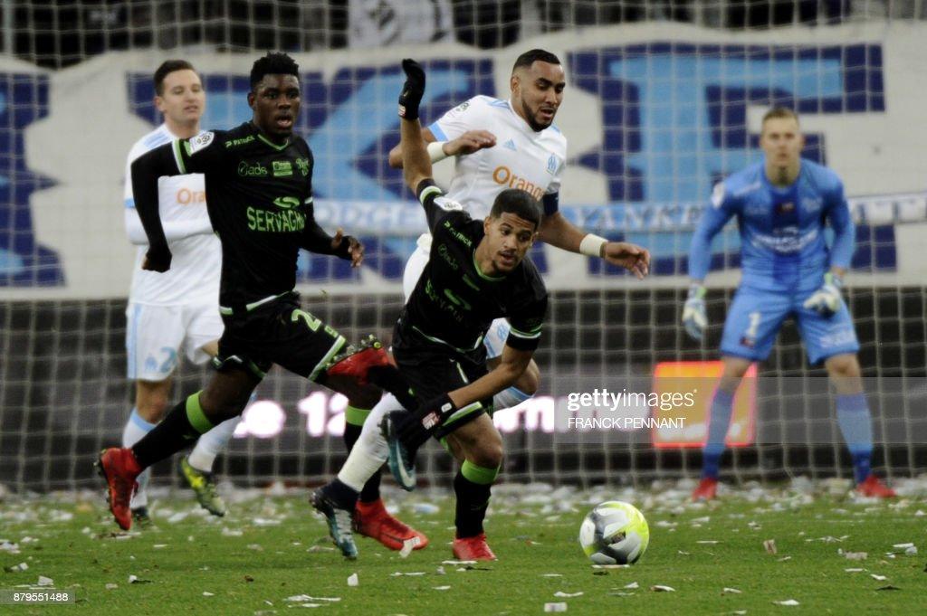 Olympique Marseille v EA Guingamp - Ligue 1