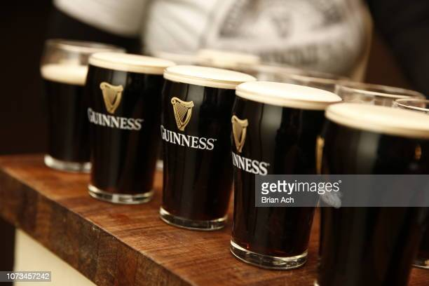 Guinness and Celebrity Chef Jeff Mauro share holiday dishes paired with Guinness beers on November 27 2018 in New York City