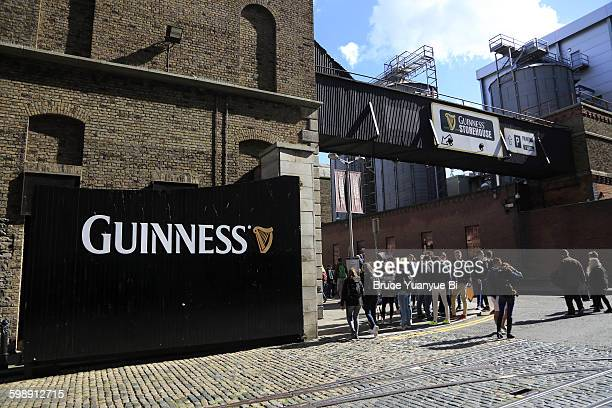 Guinness beer factory entrance