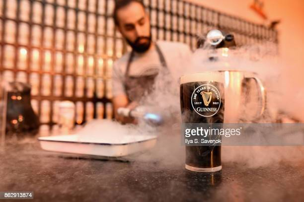 Guinness celebrates 200 years since being exported to America at The Root on October 18 2017 in New York City