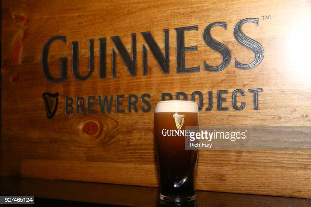 Guinness pint at Jimmy Kimmel's postshow afterparty for Hollywood's biggest night at The Lot on March 4 2018 in West Hollywood California