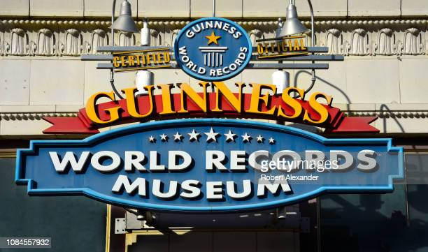 Guinness World Records Museum in downtown San Antonio, Texas, directly across from street from The Alamo.