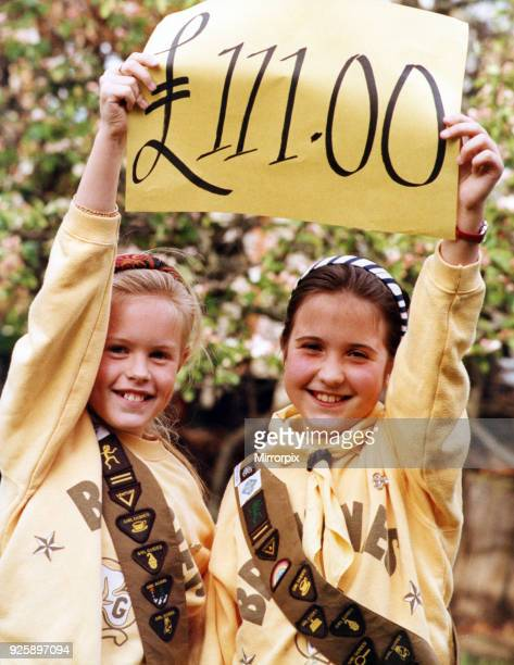 Guisborough Brownies Rosemarie Brownlie and Emma Bennington both 9 have amassed a staggering £111 from their own bazaar fundraiser Their Brownie...