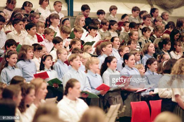 Guisborough schools carol concert North Yorkshire 9th December 1994