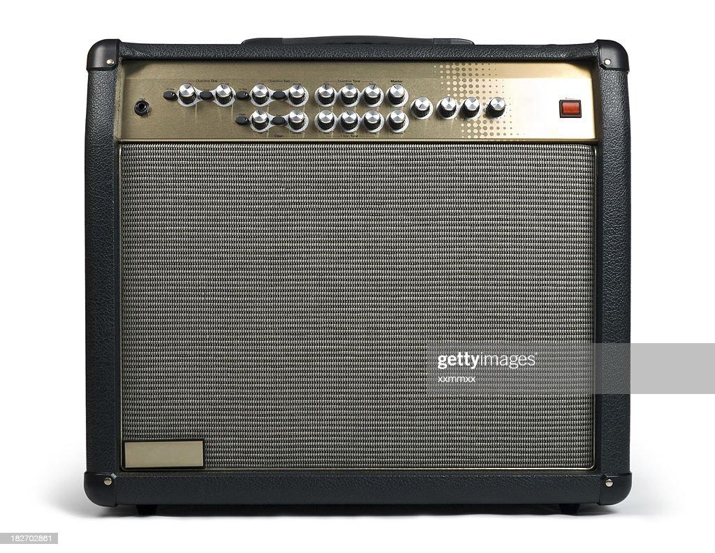 Guitar amplifier : Stock Photo