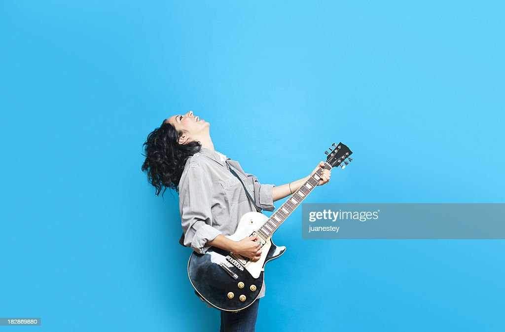 Guitar Chic : Stock Photo