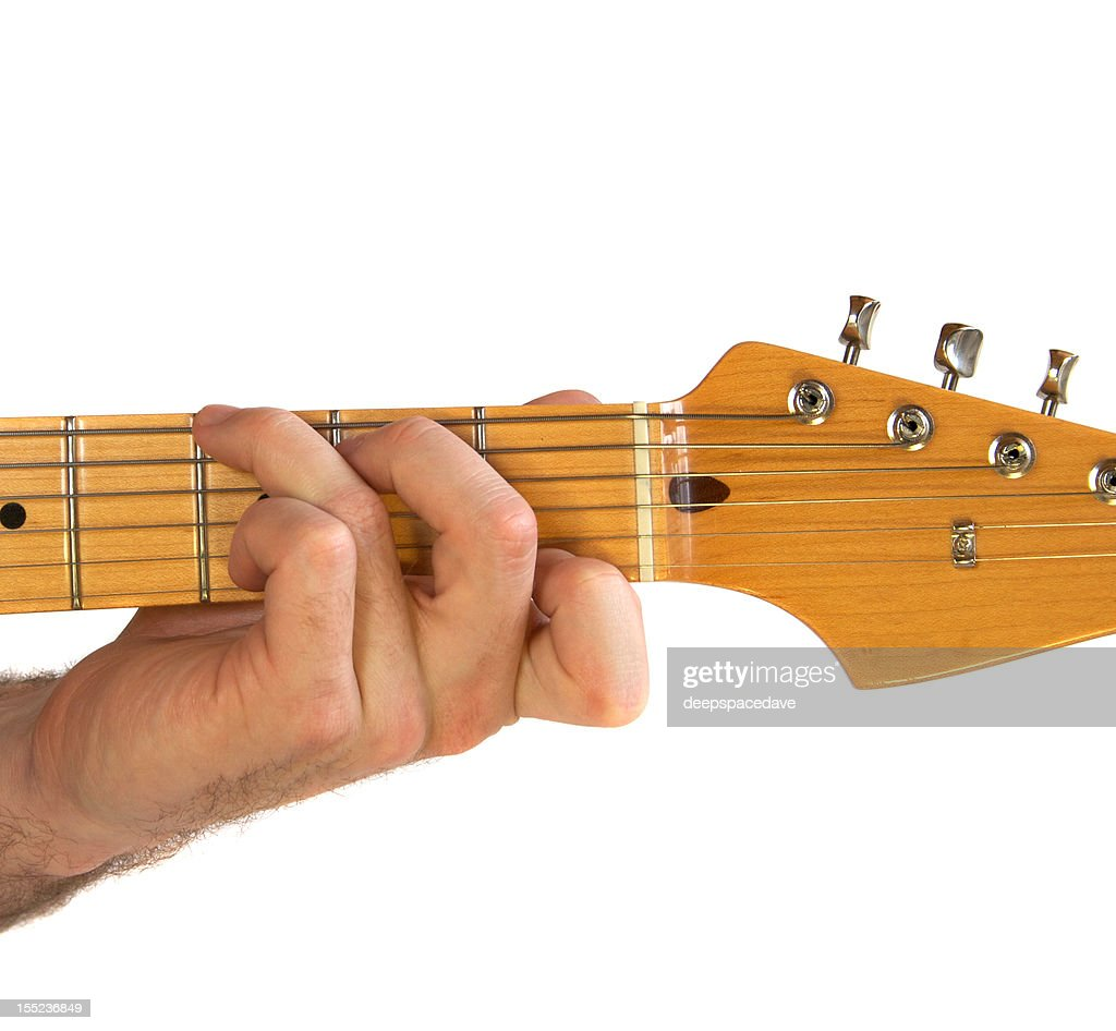 C7 Guitar Chord Stock Photo Getty Images