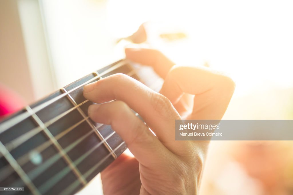 guitar chords : Stock Photo