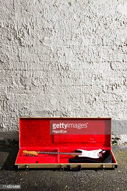 guitar grunge - guitar case stock pictures, royalty-free photos & images