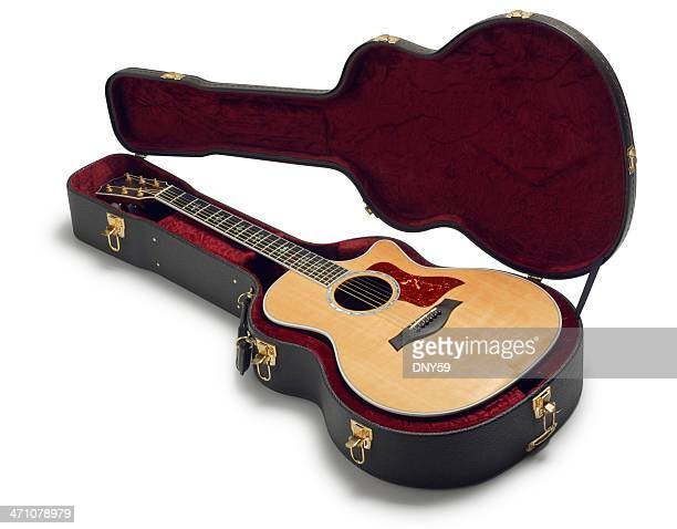 guitar - guitar case stock pictures, royalty-free photos & images
