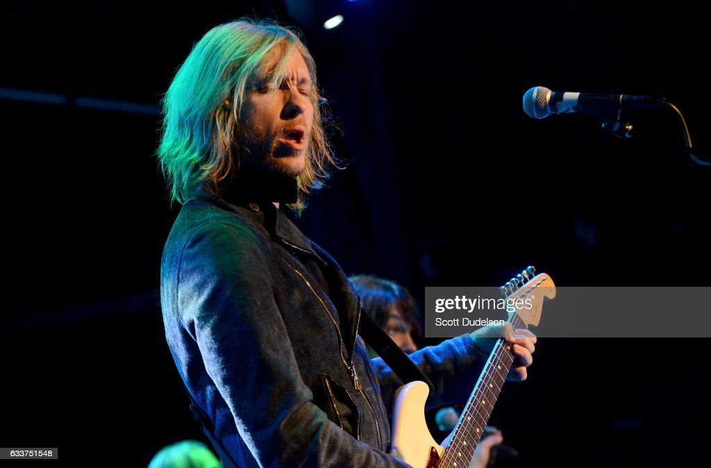 Guitar player Kenny Wayne Shepherd performs onstage at The Canyon Club on February 3, 2017 in Agoura Hills, California.