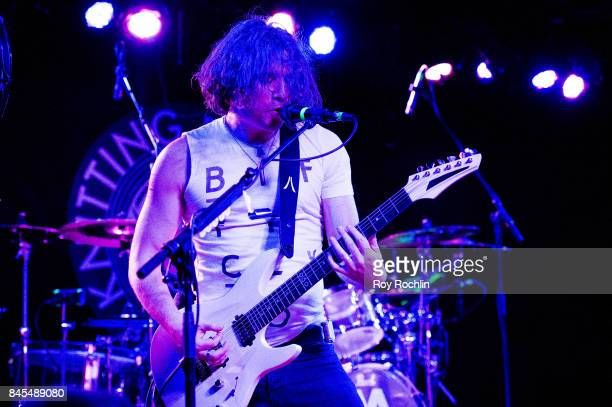 Guitar Player Mark Vollelunga of Nothing More performs live on SiriusXM's Octane Channel at The Knitting Factory on September 10 2017 in New York City