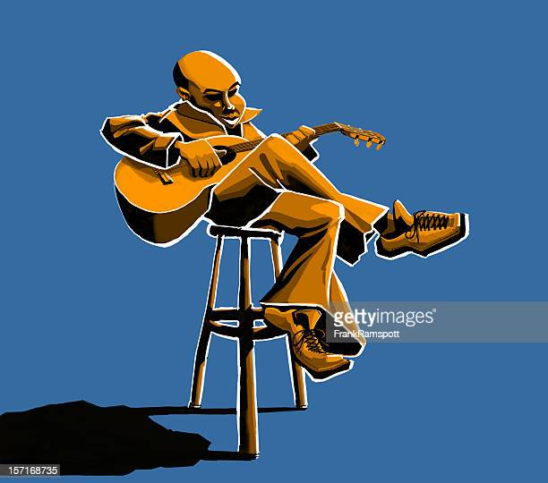 guitar player - frankramspott stock pictures, royalty-free photos & images