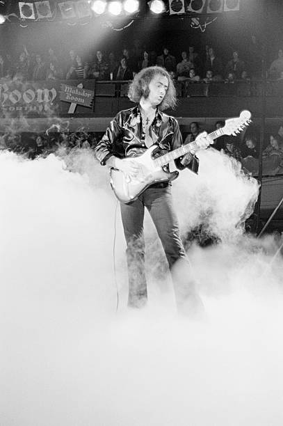 Ritchie Blackmore On Stage Wall Art