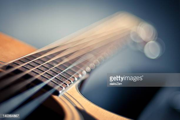 guitar strings - musical instrument string stock pictures, royalty-free photos & images
