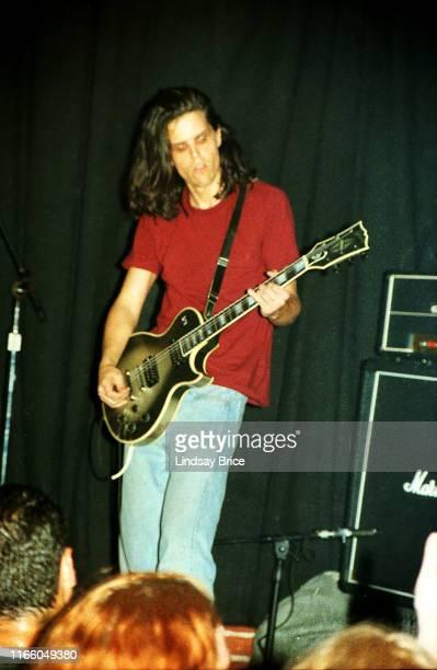 Guitarist Adam Jones performs in Tool at Club Lingerie in Hollywood on June 2 1992 in Los Angeles