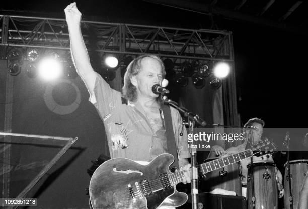 Guitarist Al Jardine of The Beach Boys performs at Allentown Fairgrounds on September 2 1992 in Allentown Pennsylvania