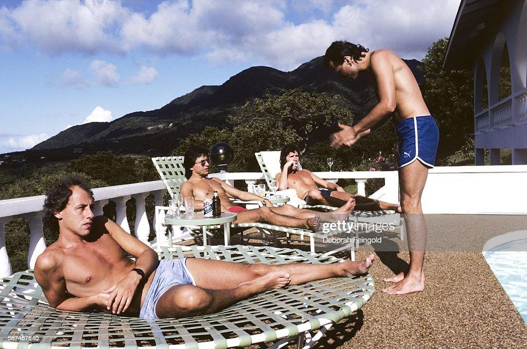 Dire Straits Portrait Session : News Photo