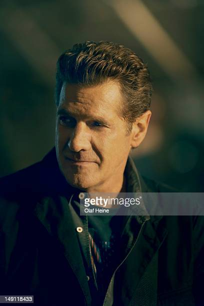Guitarist and singer Glenn Frey of rock band the Eagles is photographed on March 21 2007 in Los Angeles California