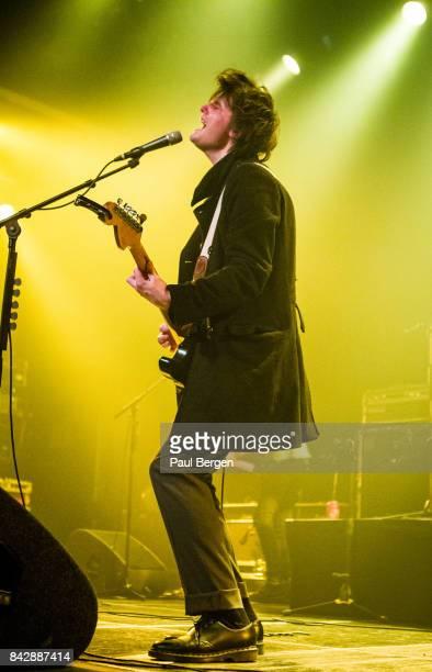Guitarist and singer Jack Jones performs on stage at Melkweg Amsterdam Netherlands 13th March 2017