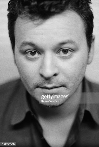 Guitarist and singer James Dean Bradfield of Welsh rock group Manic Street Preachers Margate Kent 22nd September 1998