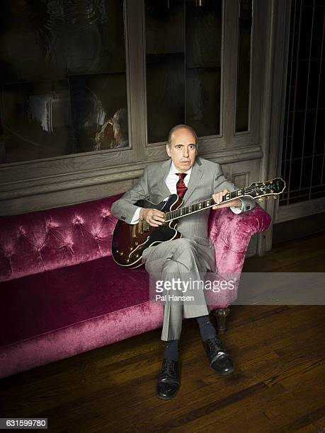 Guitarist and singer of the Clash and Big Audio Dynamite, Mick Jones is photographed for the Observer on July 13, 2016 in London, England.
