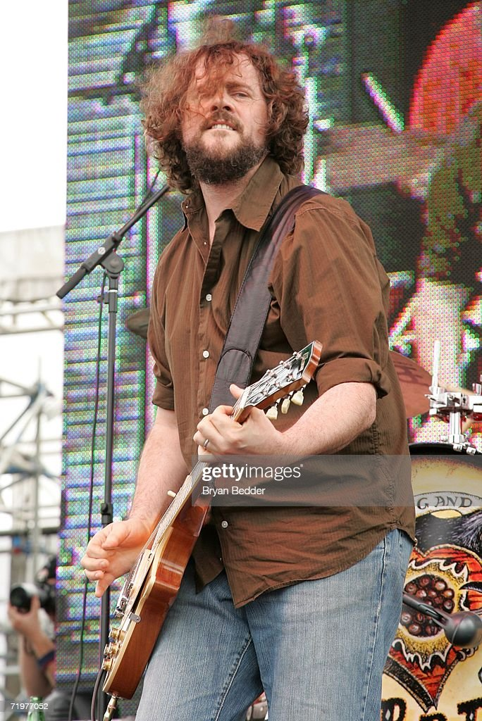 Guitarist and songwriter Patterson Hood of Drive-By Truckers performs onstage at the Virgin Festival by Virgin Mobile at Pimlico Race Course on September 23, 2006 in Baltimore, Maryland.