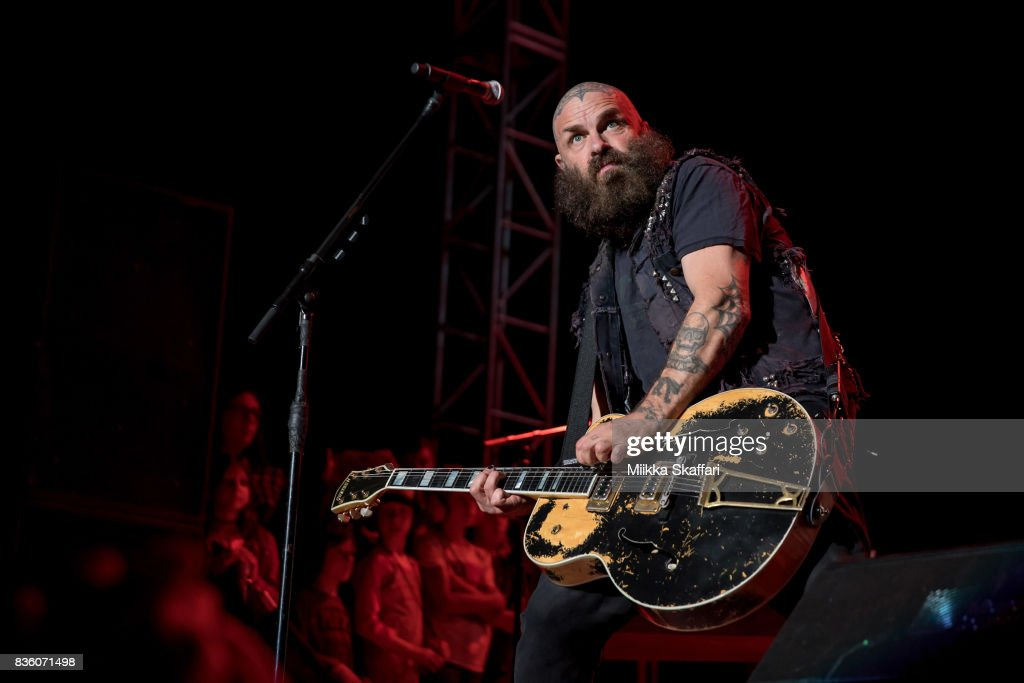 Guitarist and vocalist Tim Armstrong of Rancid performs at The Greek Theater on August 20, 2017 in Berkeley, California.