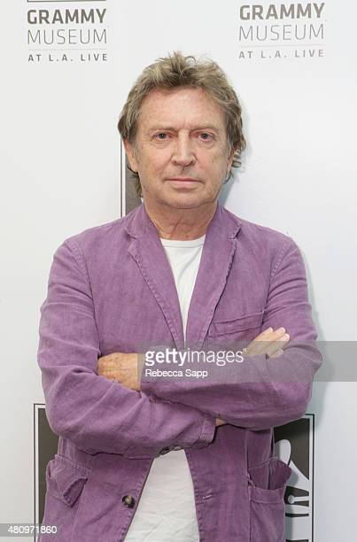 Guitarist Andy Summers attends Reel to Reel Can't Stand Losing You Surviving The Police at The GRAMMY Museum on July 15 2015 in Los Angeles California