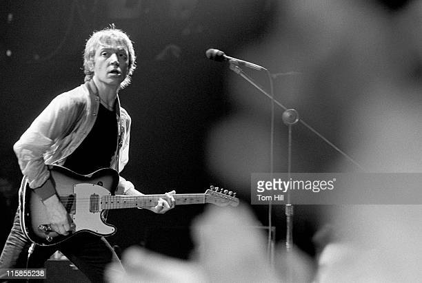Andy Summers of the Police during The Police in Concert at the Agora Ballroom in Atlanta April 27 1979 at Agora Ballroom in Atlanta Georgia United...