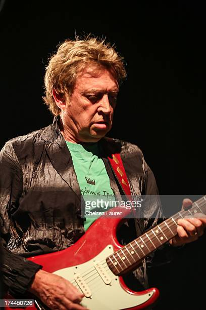 Guitarist Andy Summers performs at Circa Zero's first live performance at El Rey Theatre on July 25 2013 in Los Angeles California