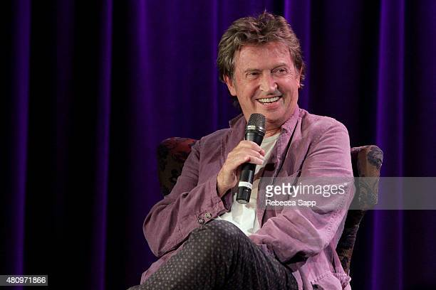 Guitarist Andy Summers speaks onstage at Reel to Reel Can't Stand Losing You Surviving The Police at The GRAMMY Museum on July 15 2015 in Los Angeles...