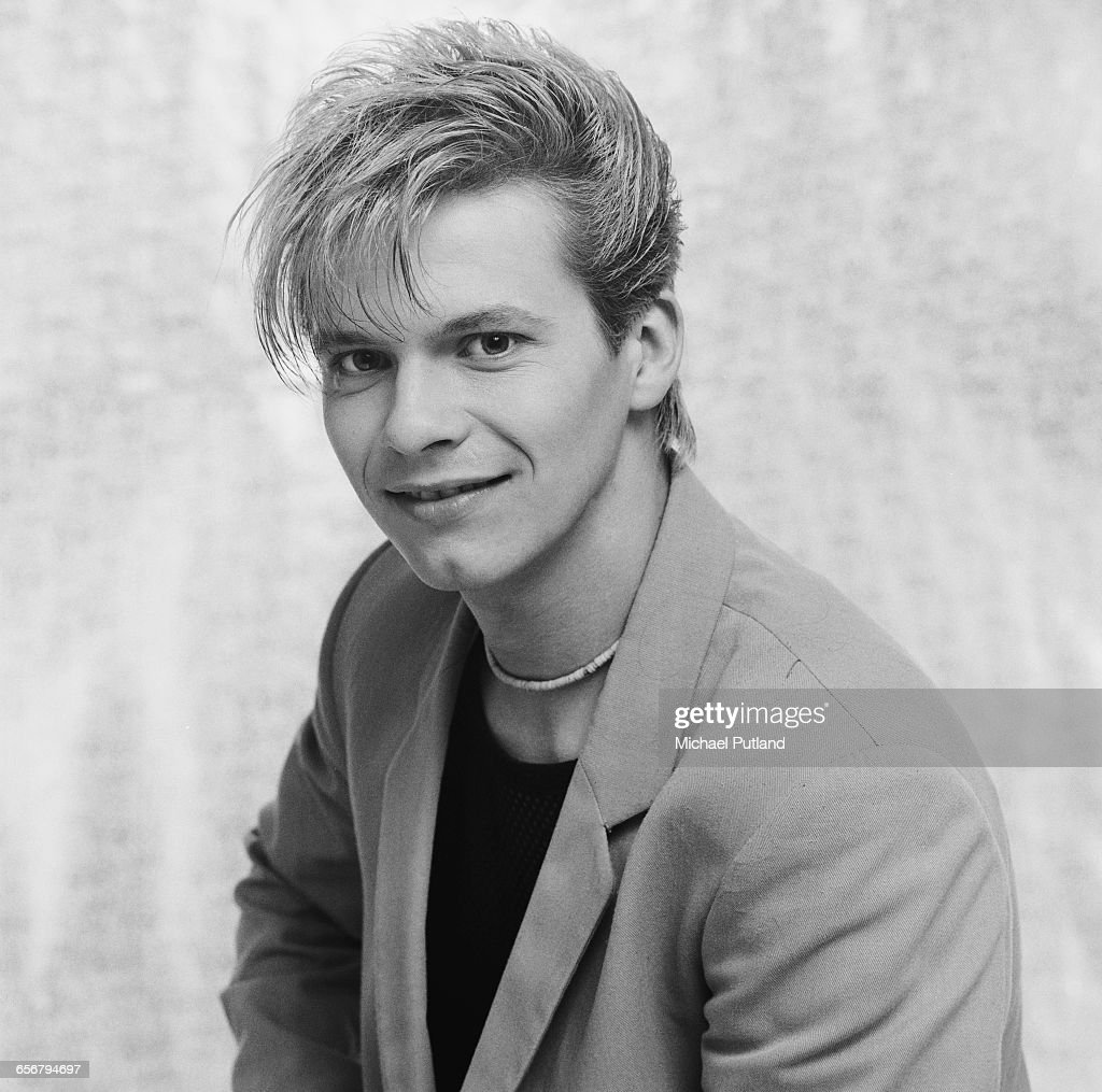 Guitarist Andy Taylor of English new romantic group Duran Duran, London, 1981.