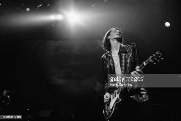 Guitarist Bernard Butler performing with English alternative rock band Suede at the Grand Theatre Clapham London 12th July 1993