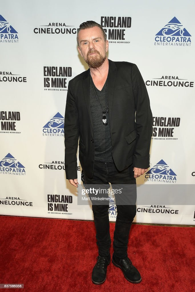 Guitarist Billy Duffy attends the screening of 'England Is Mine' at The Montalban on August 22, 2017 in Hollywood, California.
