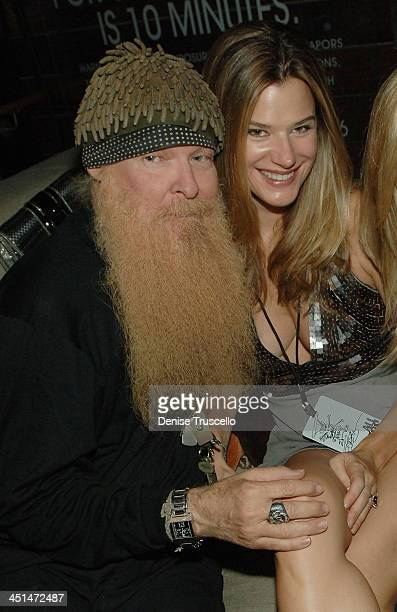 Guitarist Billy Gibbons and his wife Gilligan Gibbons attends Slash's birthday concert at Bare Pool Lounge at The Mirage Hotel and Casino on July 23...