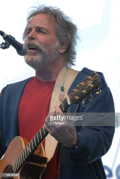 Guitarist Bob Weir of the Grateful Dead and RatDog performs at the Green Apple Festival on April 20 2008 in San Francisco California
