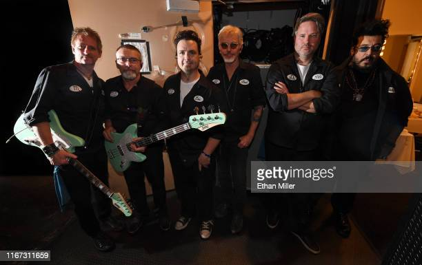 Guitarist Brad Davis bassist Raymond Hardy drummer Eric Rhoades singer/actor Billy Bob Thornton guitarist JD Andrew and keyboardist Teddy Andreadis...