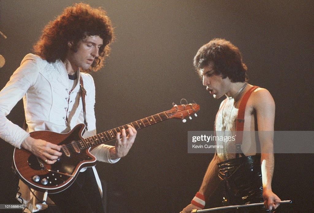 Queen On Stage In Manchester : News Photo