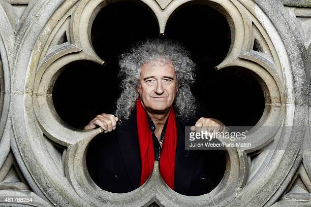 Guitarist Brian May is photographed for Paris Match on November 24 2104 in Paris France