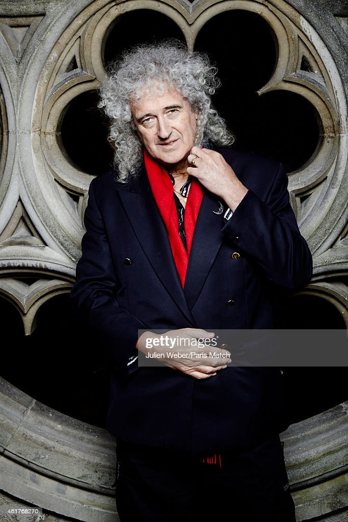 Brian May, Paris Match Issue 3421, December 17, 2014
