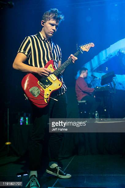 Guitarist Brynjar Leifsson of Of Monsters and Men performs at The Fillmore on December 03 2019 in Charlotte North Carolina