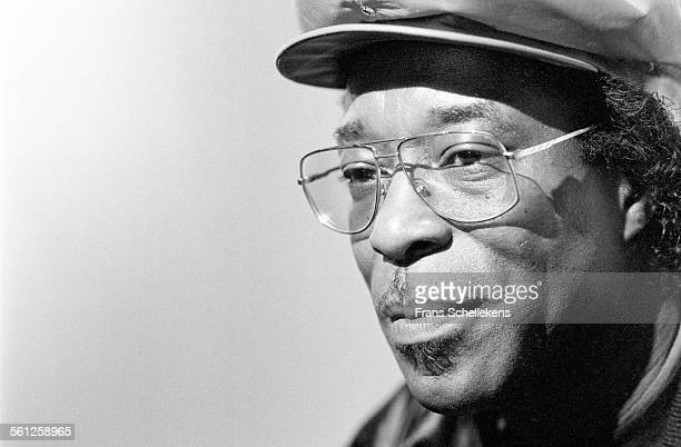 Guitarist Buddy Guy poses on June 16th 1991 in Hilversum Netherlands