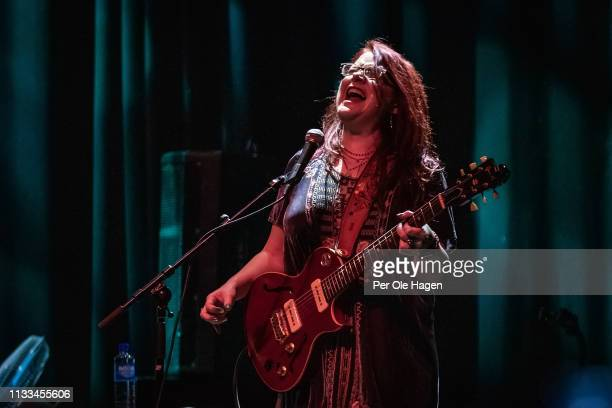 Guitarist Carolyn Wonderland with John Mayall performs at Rockefeller on March 3 2019 in Oslo Norway