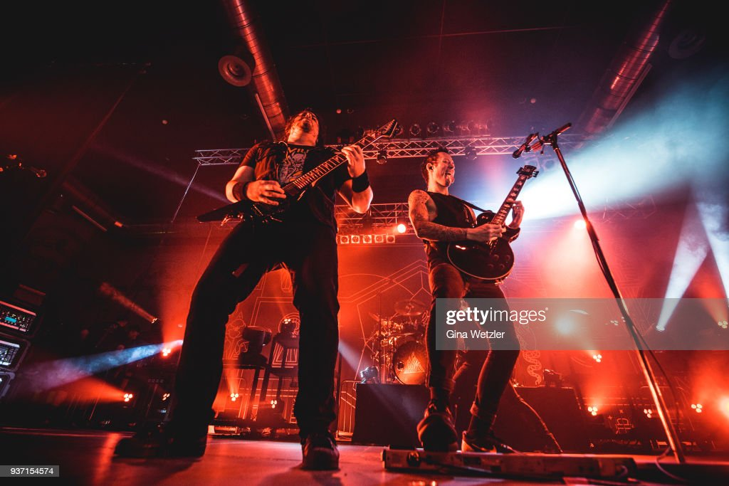 Trivium Perform In Berlin